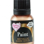 Rainbow Dust Paint - Metallic Dark Gold