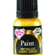 Rainbow Dust Paint - Metallic Light Gold