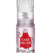 Cake Decor - Rosa Spray Glitter