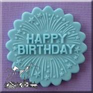 Alphabets Moulds - Happy Birthday