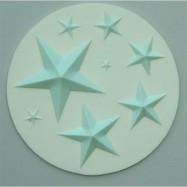 Alphabets Moulds - Stjärnor