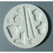 Alphabets Moulds - Vinter