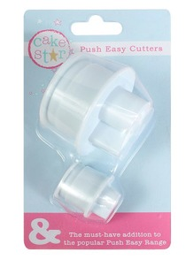 Cake Star Push Easy Stor & litet