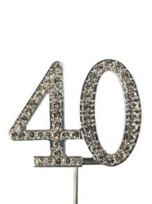 CAKE STAR DIAMANTE NUMBER 40