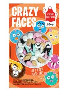 Crazy Faces - Strössel