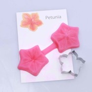 Cutter and mould - Petunia