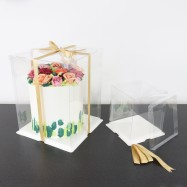 PME Crystal Cake Box 25cm