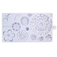 Karen Davies silikonform - Buttercream Flowers 2017