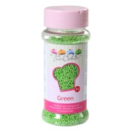 FunCakes Sockerpärlor Grön