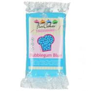 FunCakes sockerpasta - Blå med Bubbelgumsmak 250g
