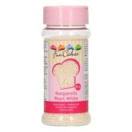 FunCakes Sockerpärlor Pearl White