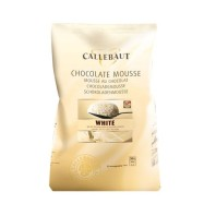 Callebaut Vitchokladmousse 800g