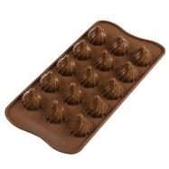 Silikomart Choklad Mould - Choco Flame