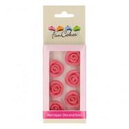 Rosa marsipanrosor - FunCakes