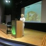 Hanaholmens VD Gunvor Kronman hälsar välkommen till Globsol 2012