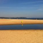 Stranden vid hotellet. Foto: Eget