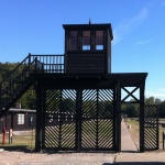 Porten till Stotthof. Foto: Eget