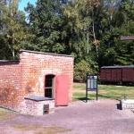 Gaskammaren på Stutthof. Foto: Eget