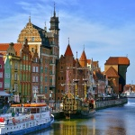 Den vackra staden Gdansk. Foto: www.allworldtowns.com