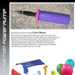 Faster Blaster Purple