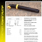 Bicycle Pump Yellow