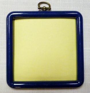 Blå Plastram med bakstycke - Blå Plastram med bakstycke