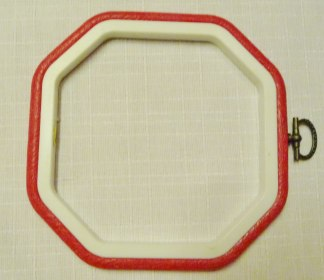 Flexiram åttakantig 12,7 cm  - Röd