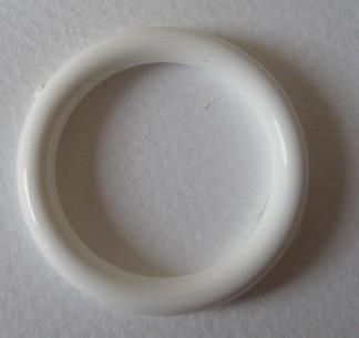 Ring vit i plast - Ring vit i plast