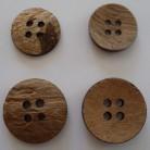 Kokosnötknapp 38 mm och 47 mm