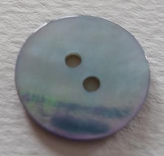 Pärlemorknapp 15 mm 2 håls - Pärlemorknapp 15 mm   .