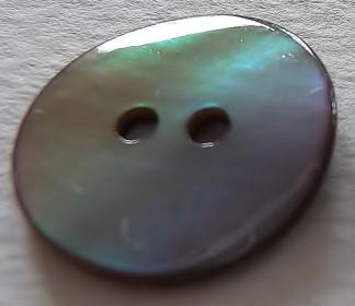 Pärlemorknapp 15 mm & 18 mm 2 håls - Pärlemorknapp 15 mm   .