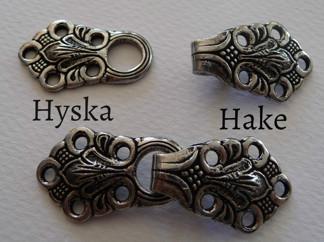 Tenn Hyska och Hake 24 mm - Tennhyska och Hake24166000/24167000