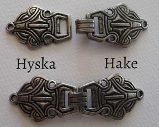 Tenn Hyska och Hake 32 mm - Tennhake