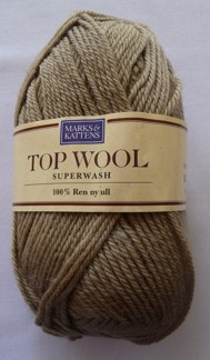 Top Wool Superwash 50 g 100% Ren ny ull - Top Wool 1423