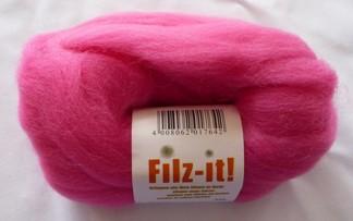 Filtz-it! 100 % Ny ull 25 g Rosa - Rosa