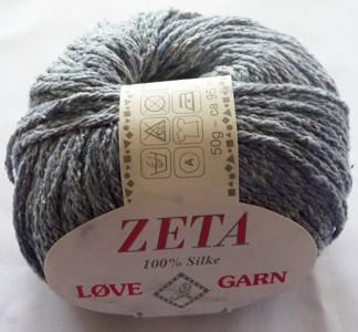 Zeta 100 % Silke 50 g - Zeta 100 % Silke 50 g