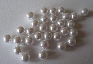 Smyckespärla 8 mm 30 st  - Smyckespärla 8 mm 30 st