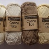 Cotton Eco 50 g Mönster bok