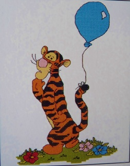 B16 Tiggers balloon  - B16 Tiggers balloon