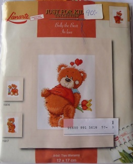 Bolly the bear in love 15618A - Bolly the bear in love 15618A