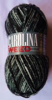 Carolina Tweed 50 g - M & K Carolina tweed 155