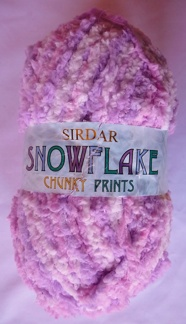 Sirdar Snowflake Chunky prints - Snowflake Chunky prints 421