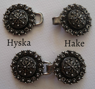 Tenn Hyska och Hake 30 mm - Tennhyska