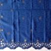 Julduk blå med stjärnor 7067