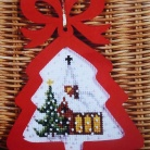 Complete cross stitch kit 6527