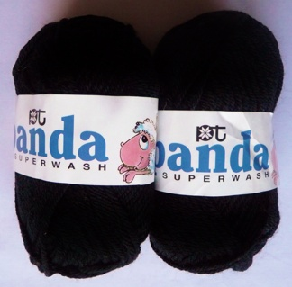 Panda Superwash 100% Merino ull - Panda 612