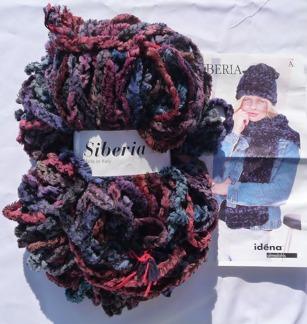 Siberia Made in Italy 300g  - Siberia Röd/blå/lila