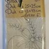 Dukar 2 st innehåller ej garn - art nr 61