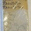 Dukar 2 st innehåller ej garn - Ritat broderi art nr 55