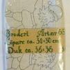 Duk och Löpare 2 st innehåller ej garn - Ritat broderi art nr 66
